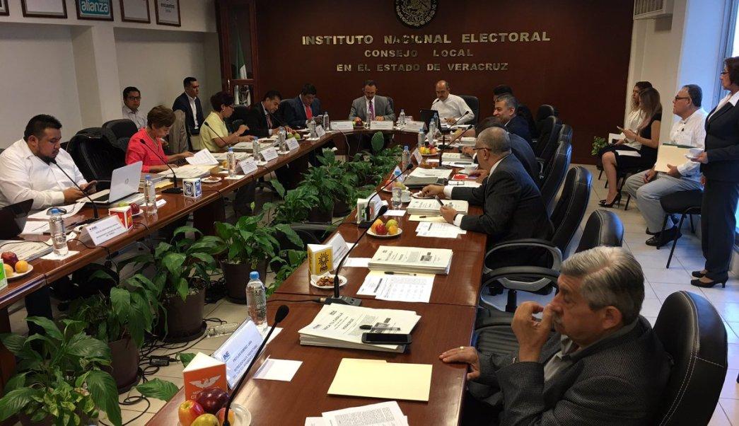 Inicia INE Veracruz Sesión Permanente del Consejo Local en Seguimiento a la jornada electoral de este domingo 4 de junio