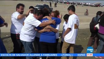 Iniciativa, Abrazos No Muros, reencuentra, familias, frontera, México Estados Unidos