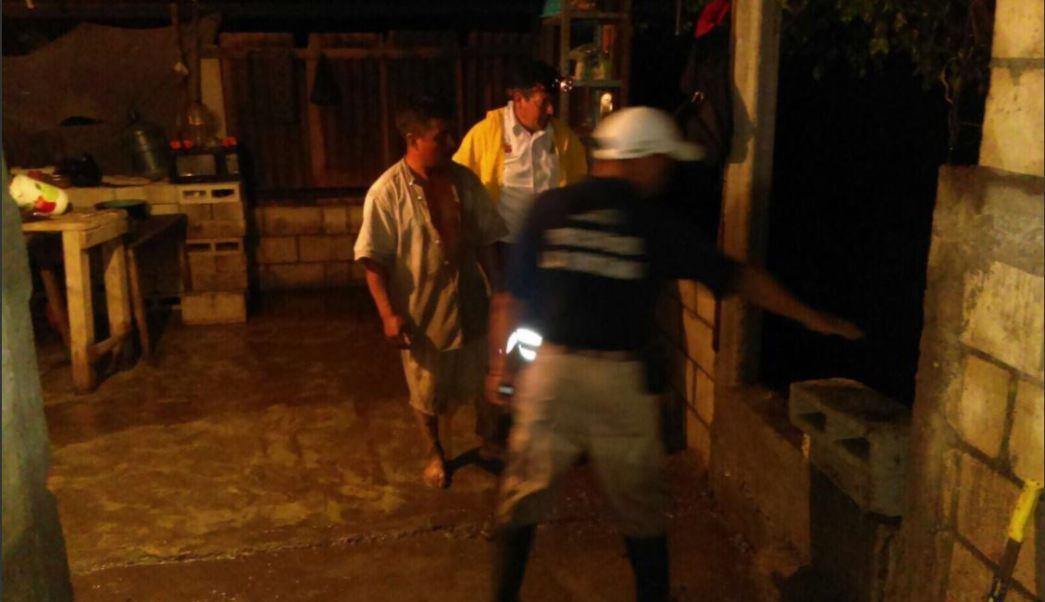 Proteccion civil de chiapas atiende desbordamiento de rio