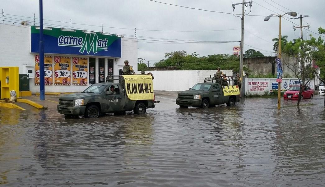 Inundaciones en Oaxaca del 1 de junio