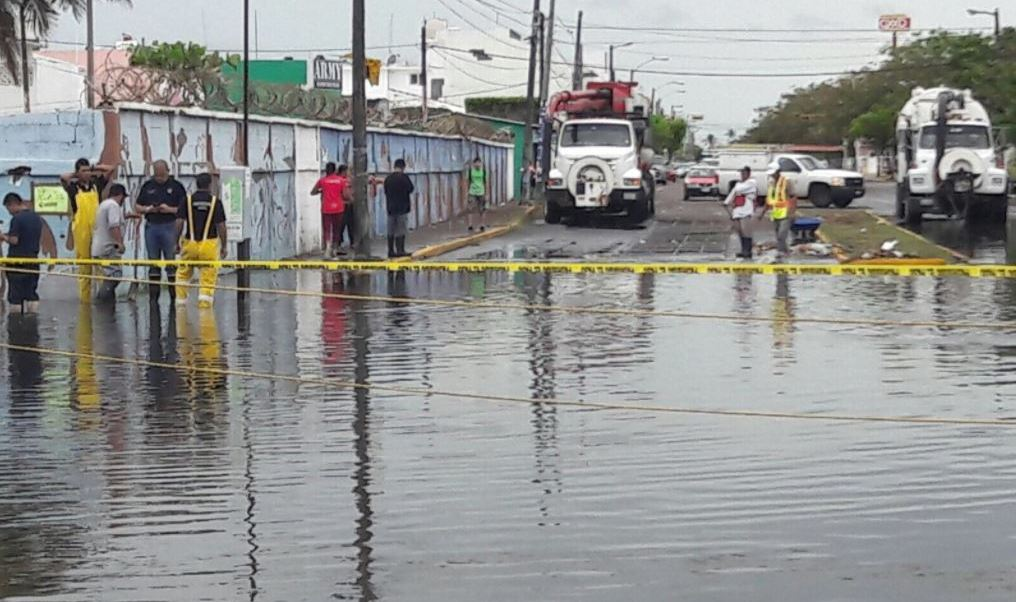 Inundaciones, lluvias, afectaciones, Veracruz,, Zacatecas, municipios