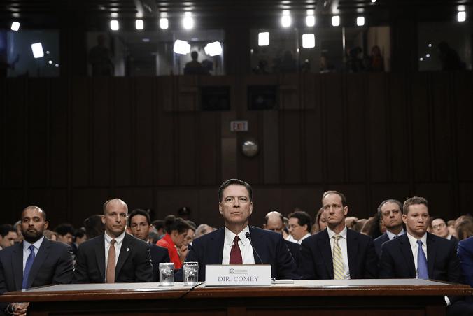 James Comey ante Comité de Inteligencia del Senado