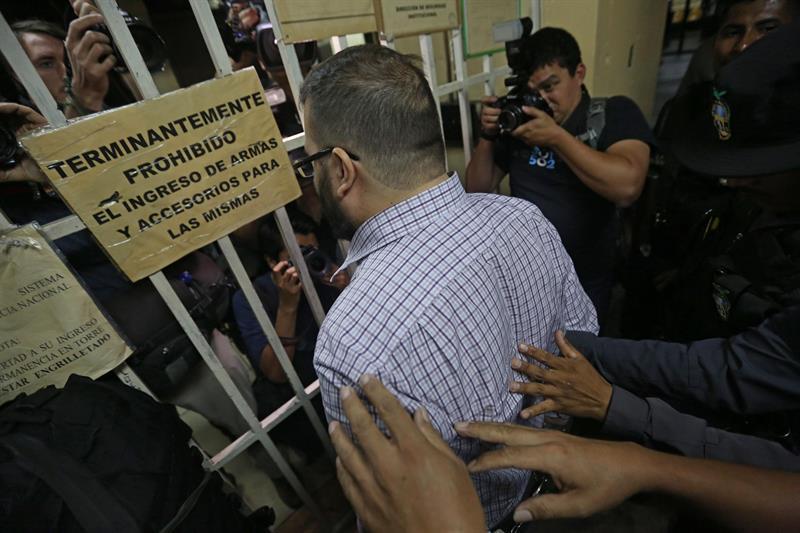 Javier Duarte acepta enfrentar acusaciones en México
