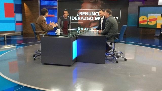 Javier Tello, Leo Zuckermann y Jorge Castañeda, en Despierta con Loret