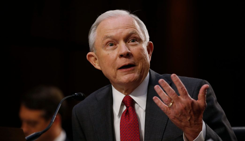 Jeff Sessions, fiscal general de Estados Unidos