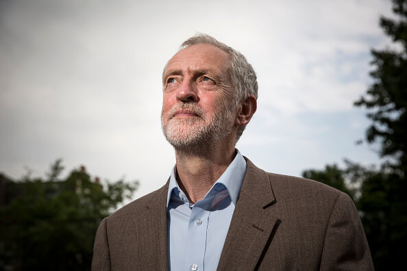 Jeremy Corbyn, líder del Partido Laborista, Reino Unido, Inglaterra