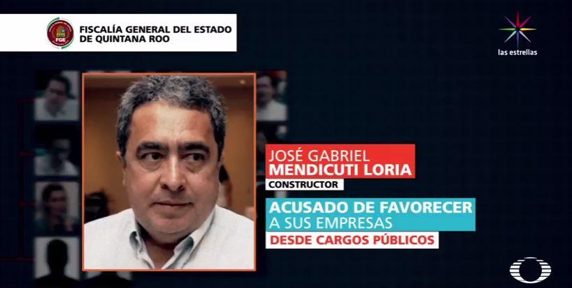 José Gabriel Mendicuti, investigado por la Fiscalía de Quintana Roo