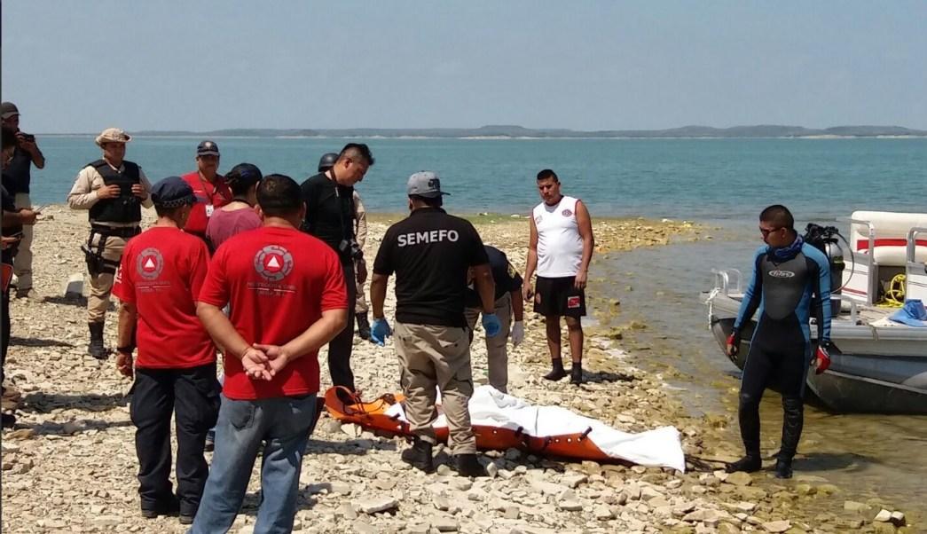 Rescatan, Cuerpo de joven, Presa, Nl, Accidente