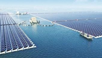 China, energía solar, paneles, ecología, planta, renovables,