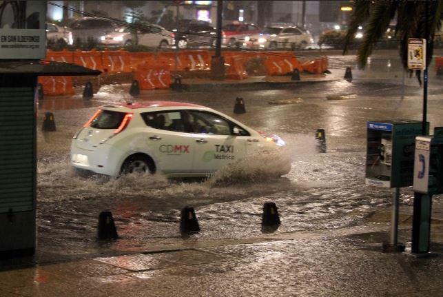 Lluvias, Zonas, Ciudad de México, Tormentas, Actividad Eléctrica, Clima,