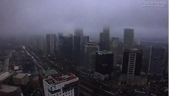 lluvia en la ciudad de mexico, cdmx, precipitaciones, tromba