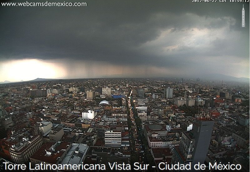 lluvia, tormentas, ciudad de méxico,