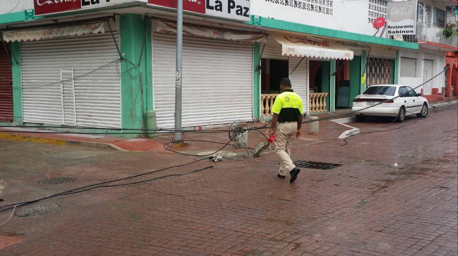 Guerrero, en alerta por las fuertes lluvias de 'Dora'