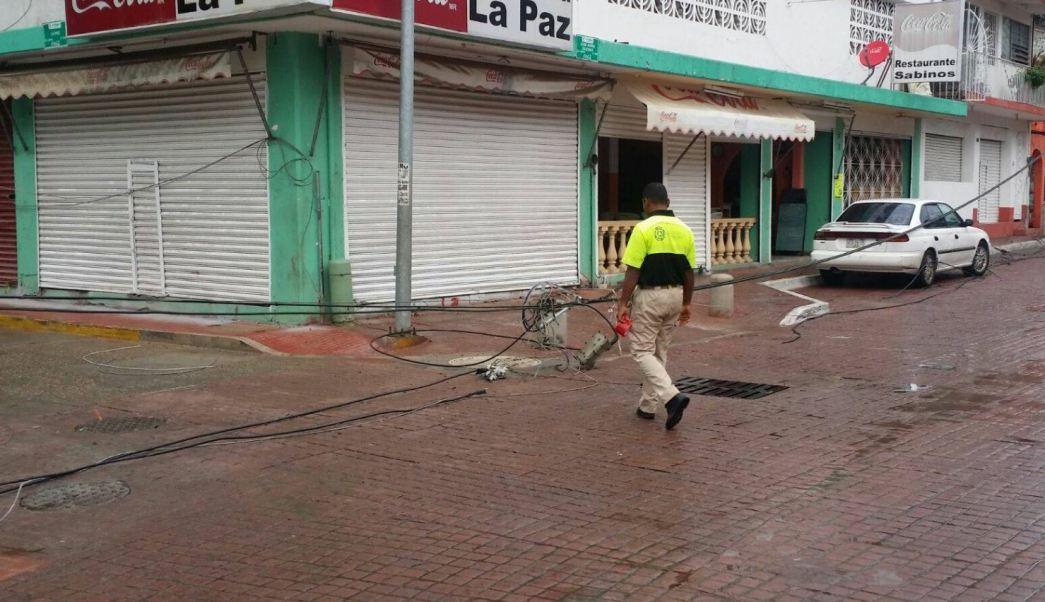 Depresión tropical, Cuatro-E, Encharcamientos, Acapulco, Árboles derribados, Lluvias, Clima,
