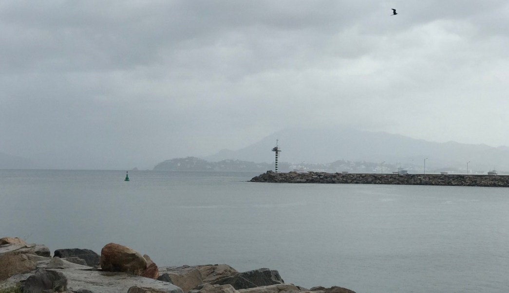 Cierran navegacion, Embarcaciones menores, Colima, Dora, Clima, lluvias