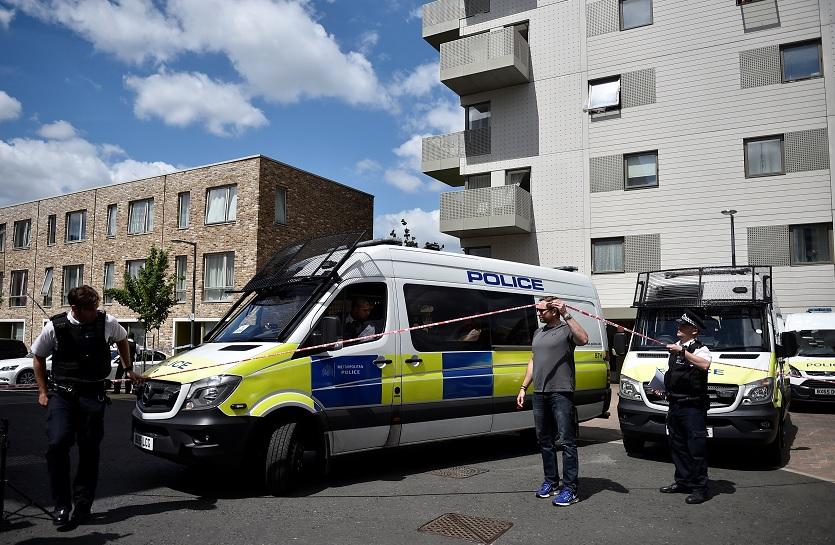 Autoridades británicas en el Puente de Londres (Reuters)