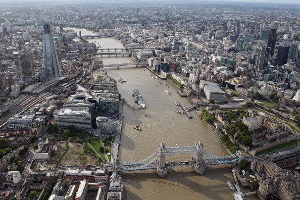 Londres, Inglaterra, Reino Unido, foto panorámica