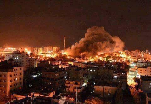 Israel ataca dos infraestructuras de Hamás en Gaza en respuesta a proyectil