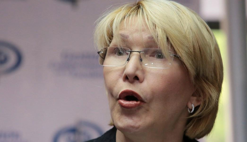 Luisa Ortega Díaz, fiscal general de Venezuela, habla en conferencia