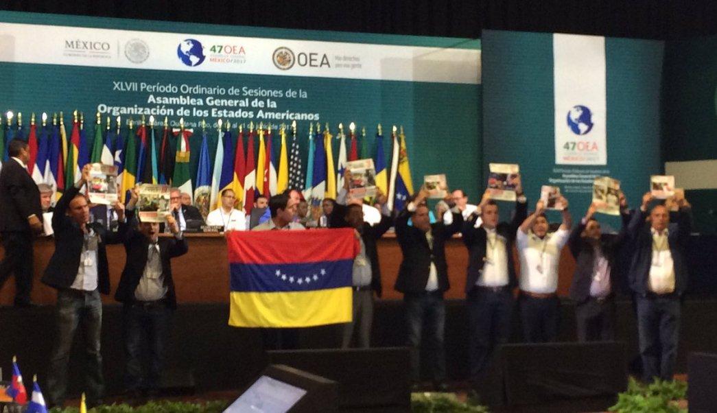 OEA, Asamblea, diputados, Cancún, Venezuela, crisis,