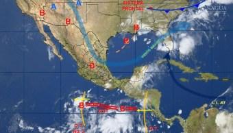 mapa del clima para este 6 de junio