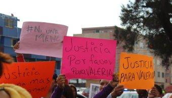 marchan para pedir justicia por niña valeria