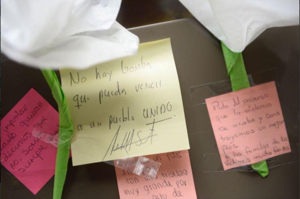 Juan Manuel Santos escribe mensaje