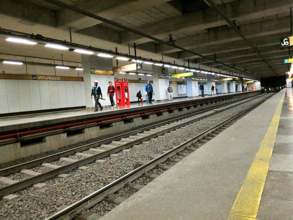 Metro Atlalilco de la Ciudad de México