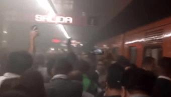 Metro Insurgentes, Linea 1 metro ciudad mexico, Corto circuito, Noticias metro insrugentes