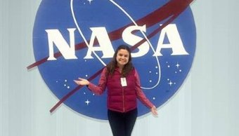 La joven mexicana María Regina Apodaca realiza estancia de investigación en la NASA (SCT)