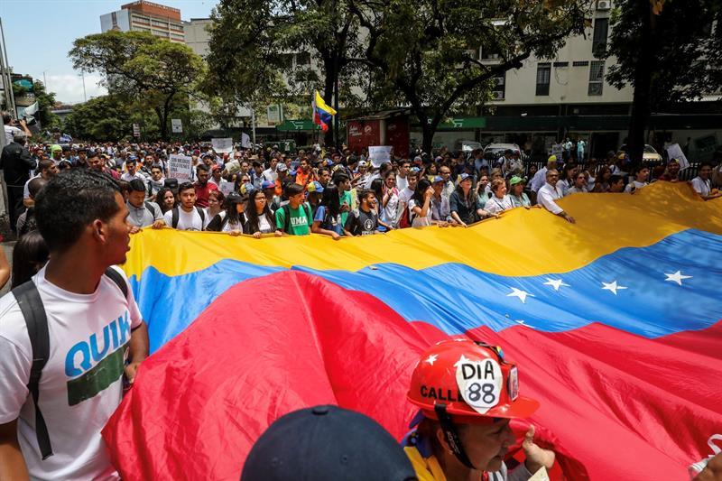 México llama a erradicar la violencia en Venezuela.