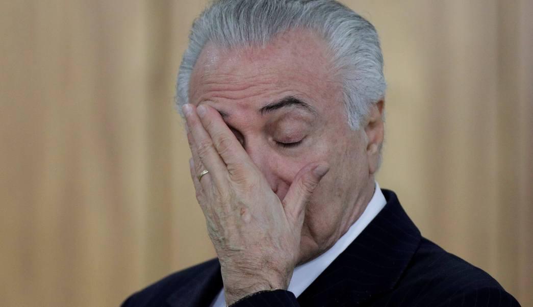 Temer, Justicia, Brasil, corrupción, Policía, política,