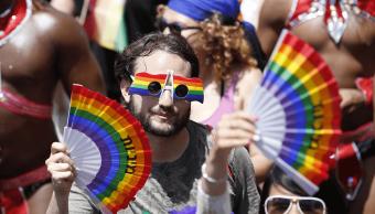 Miles de personas participaron en la marcha del Orgullo Gay en Tel Aviv