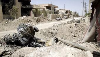 Irak, Mosul, Estado Islámico, explosiones, conflicto, daños, muertos