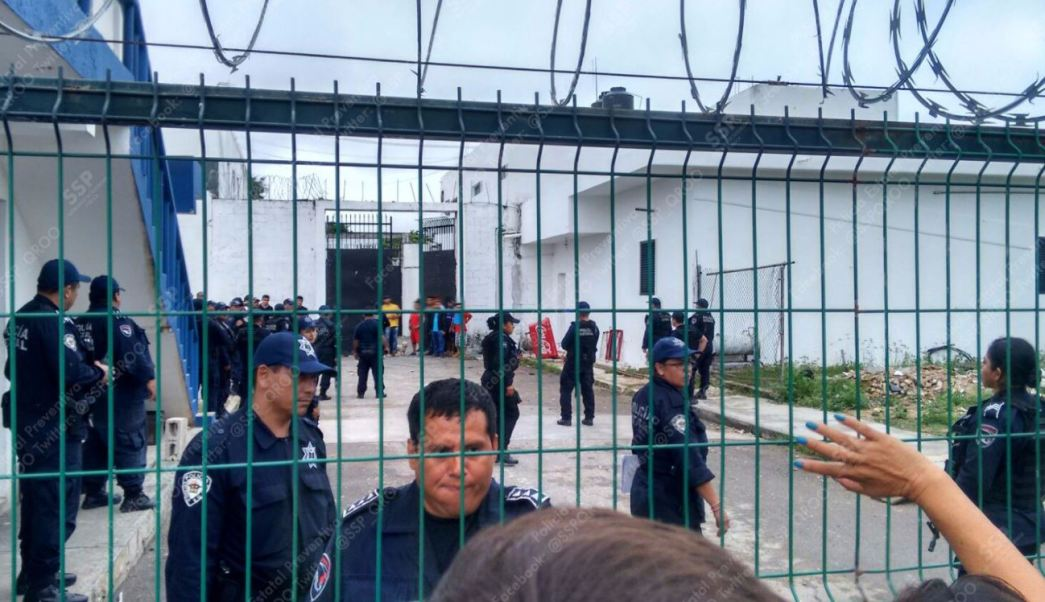 Motín en penal de Chetumal, Quintana Roo