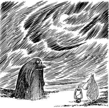 Moomin, Mumin, libro, Tove Janson, ilustración
