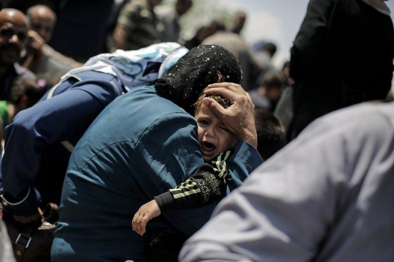 mas de 100 mil niños estan atrapados por enfrentamientos en mosul
