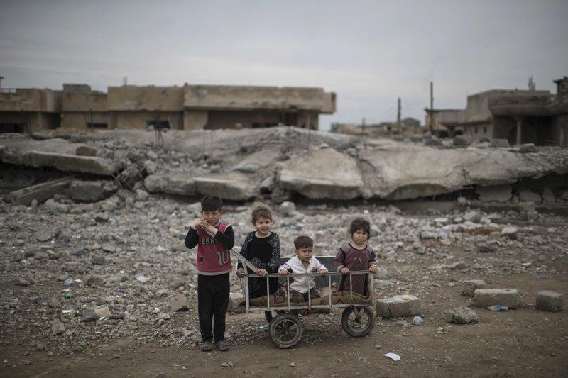 100 mil niños están atrapados y en peligro en Mosul: ONU