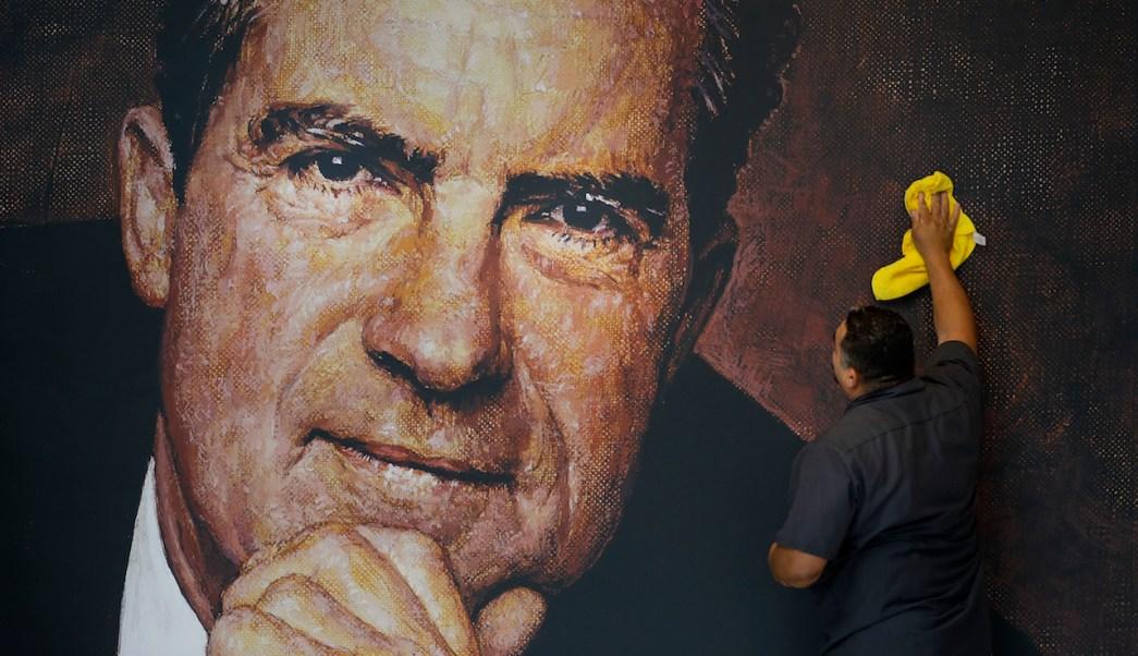 Richard Nixon, Donald Trump, Roger Stone, Watergate