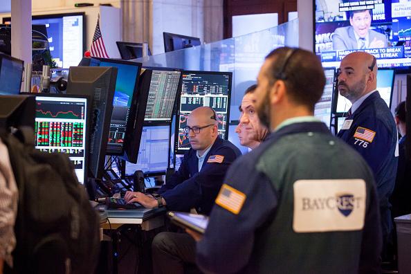 Piso de operaciones de la Bolsa de Nueva York