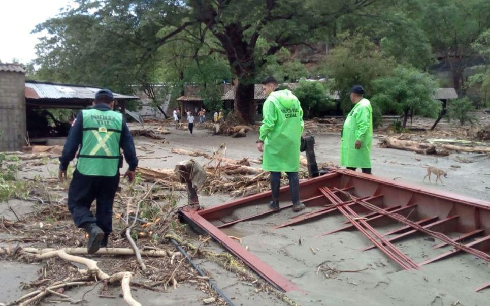 Tormenta tropical, Beatriz, Oaxaca, lluvias en Oaxaca, inundaciones en Oaxaca, municipios