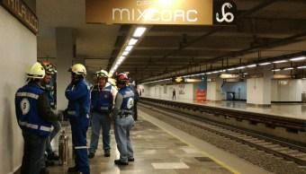 Obras de mantenimiento en la Línea 12 del Metro