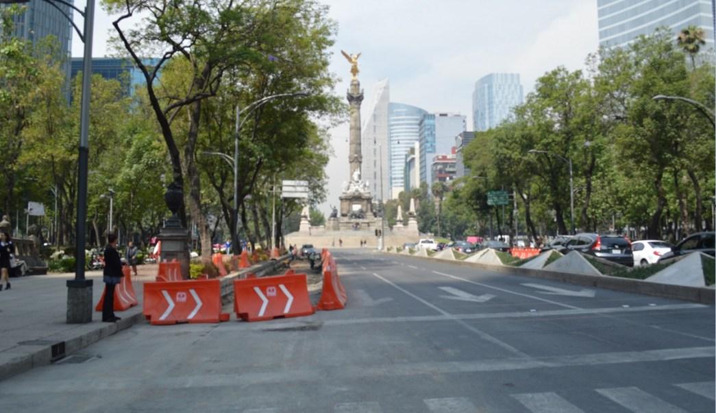 Línea 7, Metrobús, Paseo de la Reforma, Ciudad de México obras del Metrobús,