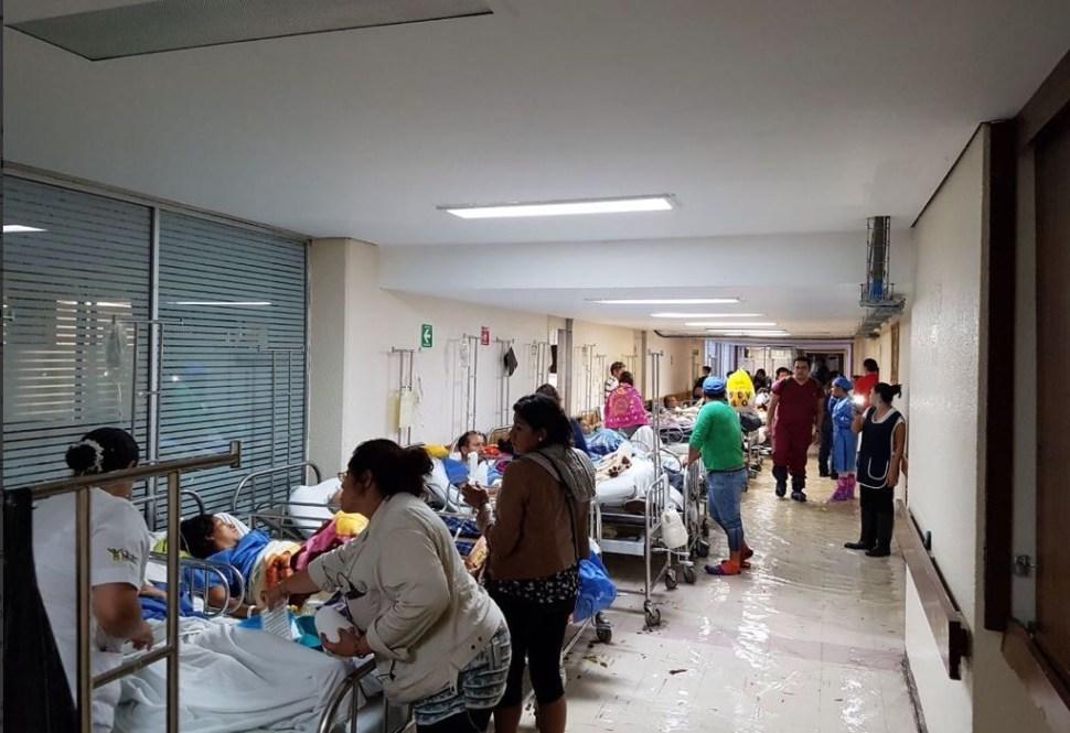 Inundación, lluvias, Clima, Hospital, La Villa