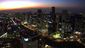 panoramica de la ciudad de mexico; preven 28 grados