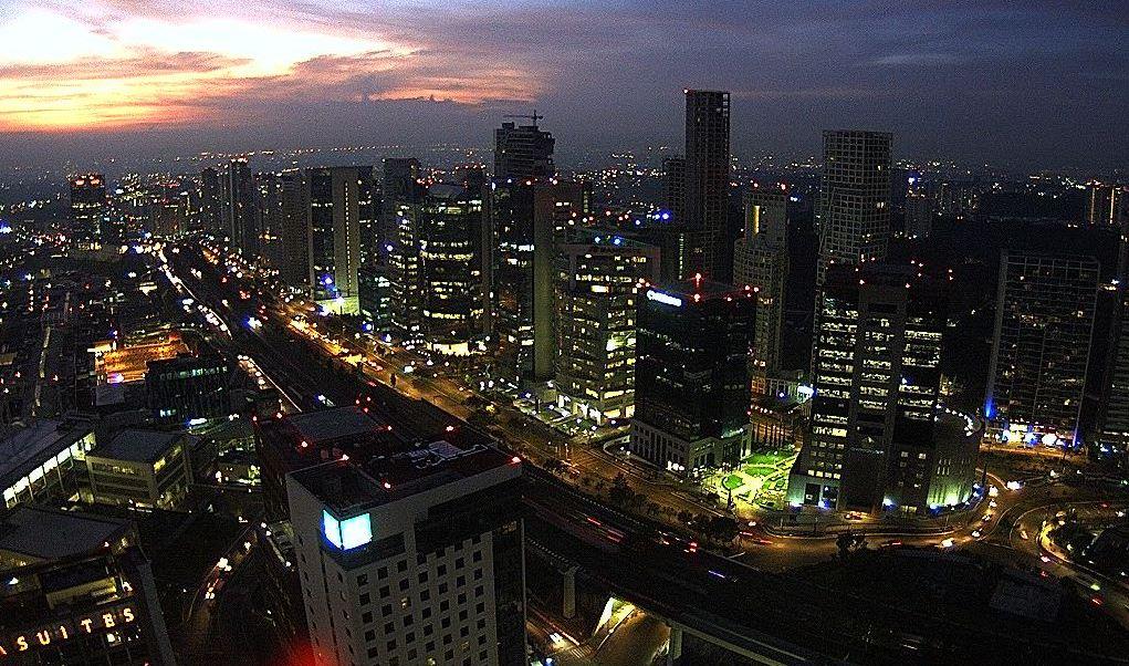 panoramica de la ciudad de mexico; preven 30 grados