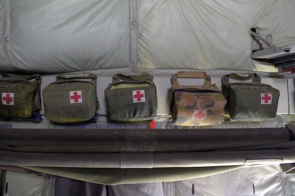 Paquetes de primeros auxilios, Fuerza de Defensa de Australia, Medicina, Medicina militar,