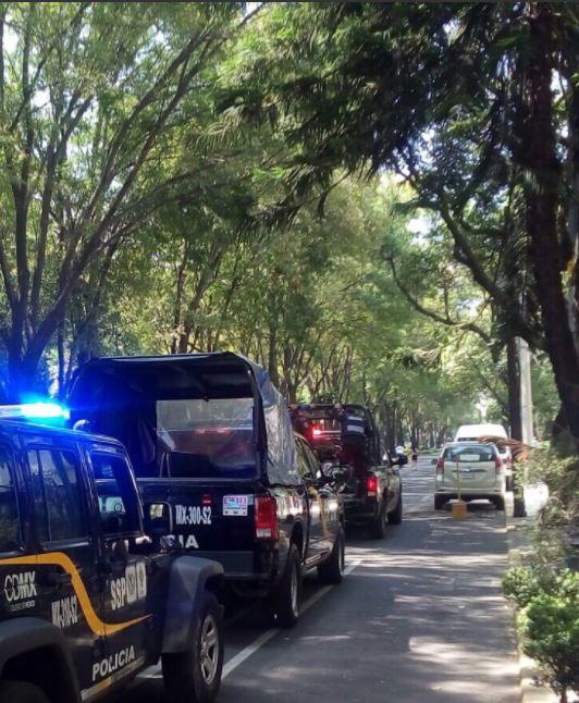 Patrullas de la Secretaría de Seguridad Ciudadana de la Ciudad de México, 16 junio 2019