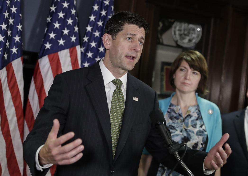 El líder republicano Paul Ryan