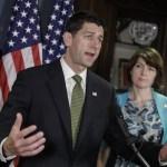 El líder republicano Paul Ryan (AP)